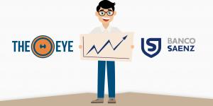 TheEye + Banco Saenz: Caso de éxito
