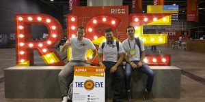 Facundo Gonzalez, Javier Ailbirt y Guido Hernández Co-Founders de TheEye