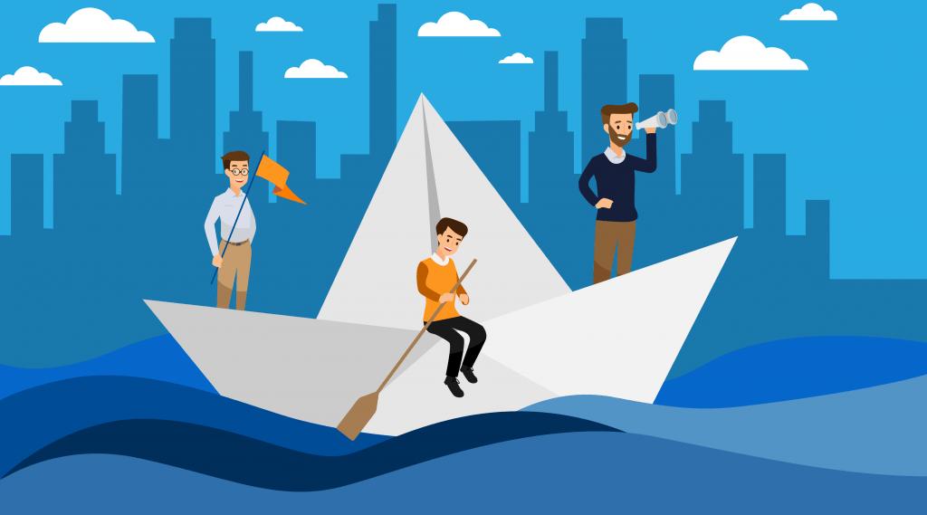 Tres amigos que hicieron del aburrimiento una plataforma para ahorrar tiempo y dinero
